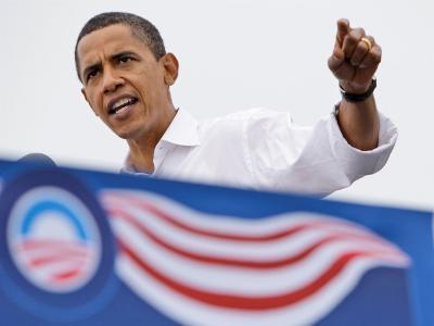 Barack Obama Speaking, Greensboro, NC