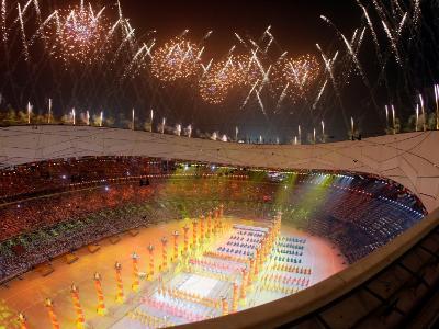 Beijing Olympics Opening Ceremony, Bird's Nest, Beijing, China