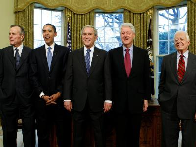President-elect Barack Obama with All Living Presidents, January 7, 2009