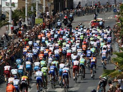 Third Stage of Tour de France, Leaving Old-Port Marseille, July 7, 2009