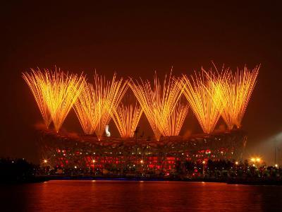 Beijing Olympics Closing Ceremony, Bird's Nest, Beijing, China