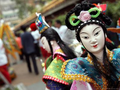 Chinese Deity Puppets
