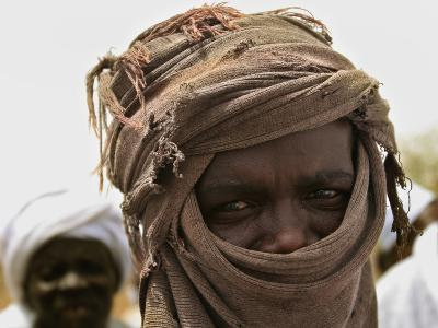 A Sudan Liberation Army, Sla, Fighter from the Faction of Abdelwahid Elnur
