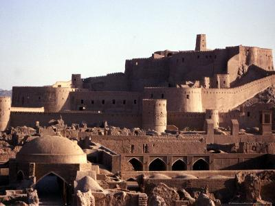 The Medieval Fortress of the 2,000 Year-Old City of Bam, Iran, September 2003