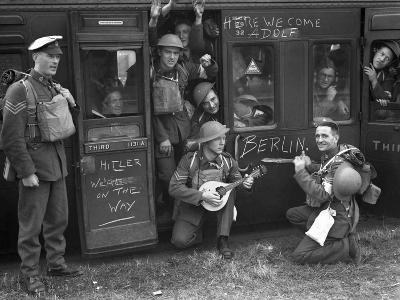England WWII Troops