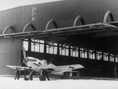 WWII Germany Messerschmitt Fighter