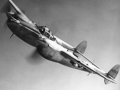 WWII USAF P 38 1945