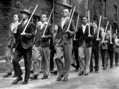 WWII Broomstick Army 1940
