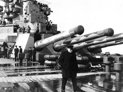 WWII Hms Wales Churchill