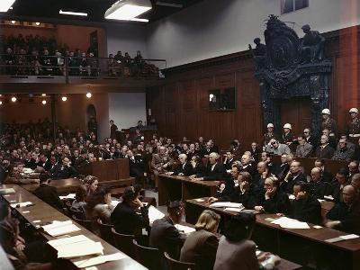 WWII Nuremburg Trials 1946