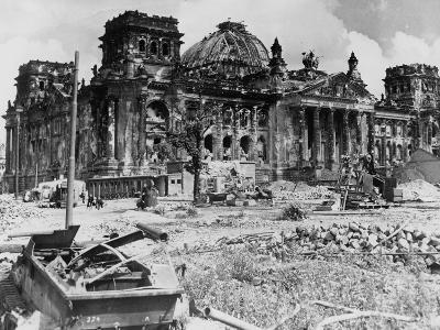 German Reichstag Ruins
