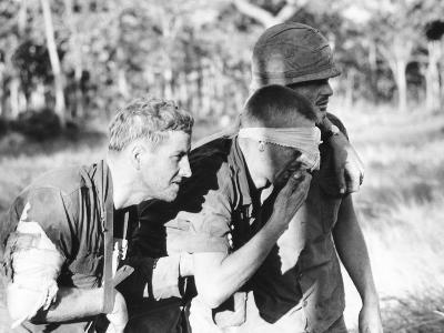 Vietnam War Ia Drang Wounded