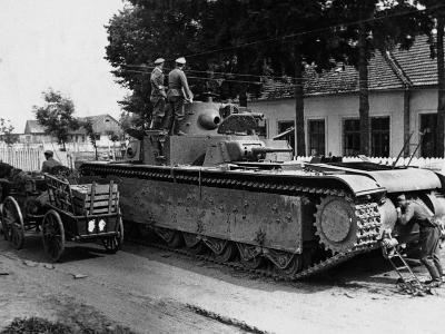 WWII Soviet Tanks in Ukraine 1941