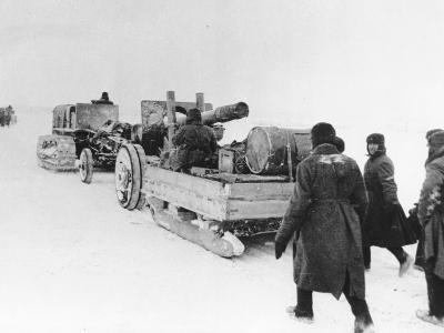 WWII Red Army Winter Advance