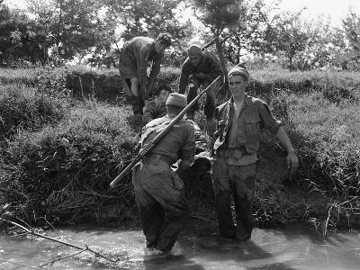 Korean War British Army Wounded