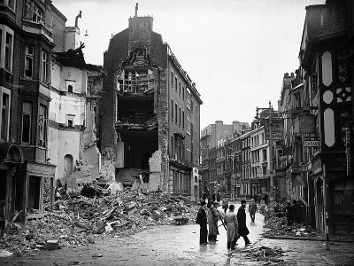 WWII London Bomb Damage