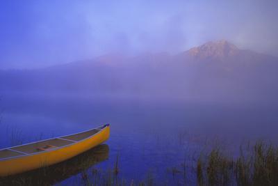 Canoe in the Fog