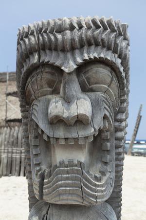 Carved Tiki