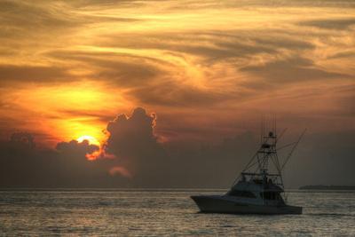 Key West Sport Fisher Sunset