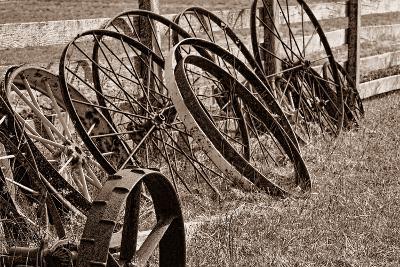 Antique Wagon Wheels II