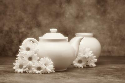 Teapot and Daisies I
