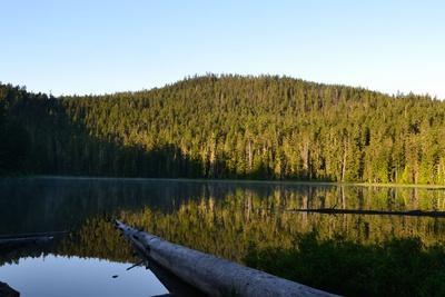 Morning at the Lake VI