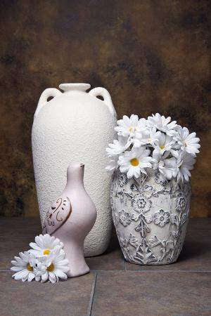 Vases with Daisies II