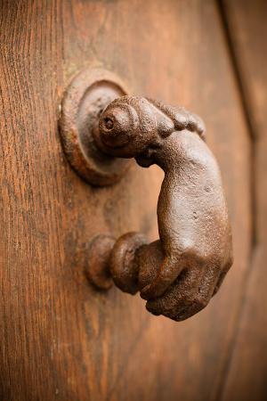 French Door Knocker I