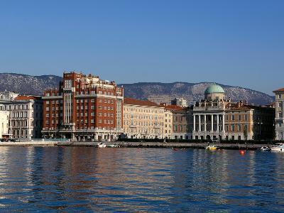 The Borgo Teresiano in Trieste