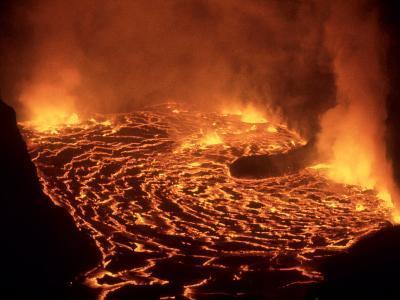 Nyiragongo Volcano, Democratic Republic of the Congo