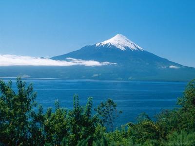 Osorno Volcano and All Saints Lake, Chile