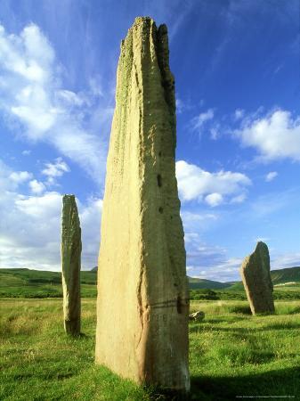 Stone Circle, Arran, Scotland