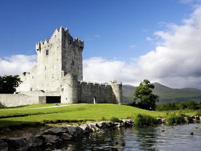 Ross Castle in Killarney, Ireland