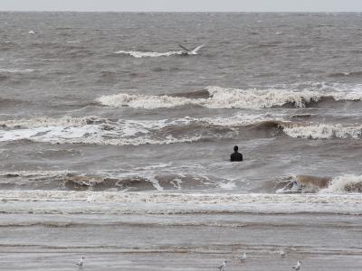 Another Place by Antony Gormley, Crosby, UK