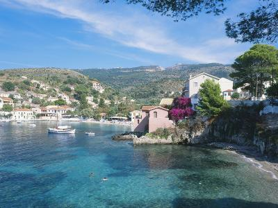 Kefalonia, One of the Small Beaches in the Village of Assos