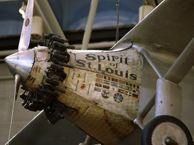 Spirit of St. Louis National Air and Space Museum Washington, D.C. USA