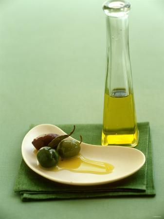 Olives with Olive Oil