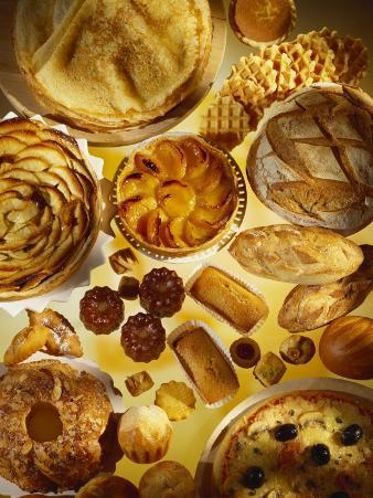 Baking Still Life with Sweet and Savoury Specialities