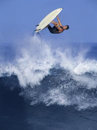 Surfer in Midair