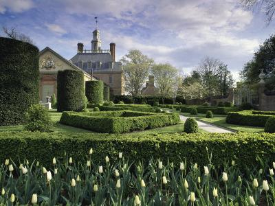 Governor's Palace, Colonial Williamsburg, Virginia, USA