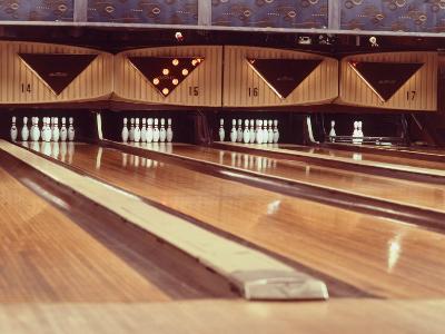 Highly Polished Bowling Lanes