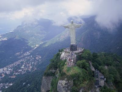 Christ the Redeemer Statue Mount Corcovado Rio de Janeiro, Brazil