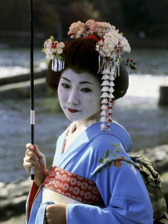 Maiko Girl, Kyoto, Japan