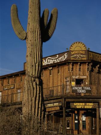 Goldfield Ghost Town, Apache Junction, Arizona, USA