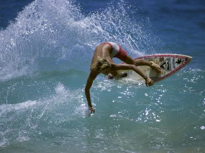 Suntanned Surfer