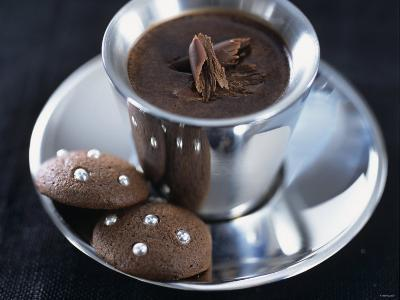 Hot Chocolate with Chocolate Biscuits