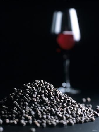 Red Wine Bouquet: Peppercorns