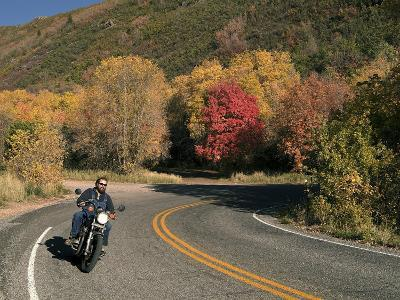 An Autumn Motorcycle Ride