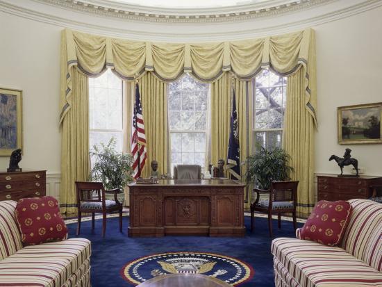 Oval Office The White House Washington D C Usa