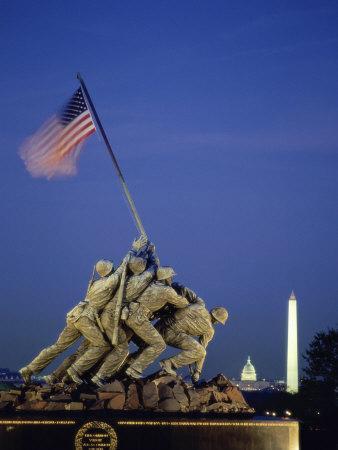 U S Marine Corps War Memorial Arlington National Cemetery